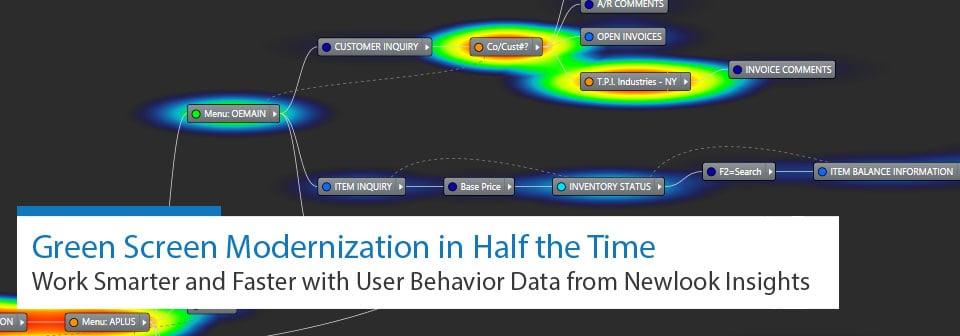 Watch the webinar: Gren Screen Modernization in Half the Time