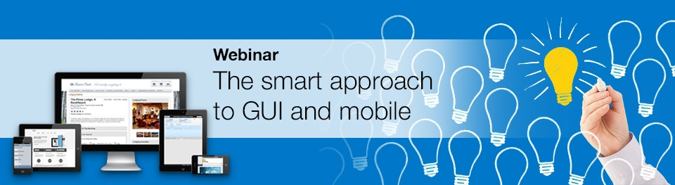 Newlook webinar: The smart approach to GUI and mobile
